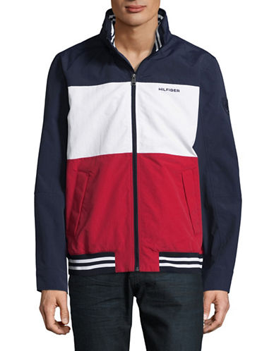 Tommy Hilfiger Flag Regatta Jacket-NAVY-X-Large