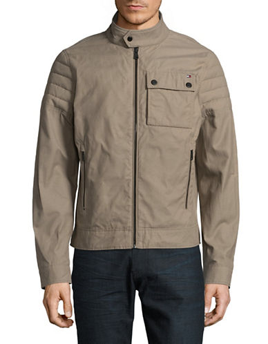Tommy Hilfiger Hemlock Jacket-GREY-Large