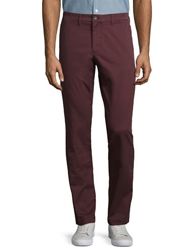Tommy Hilfiger Slim Fit Chinos-CHOCOLATE-36X30