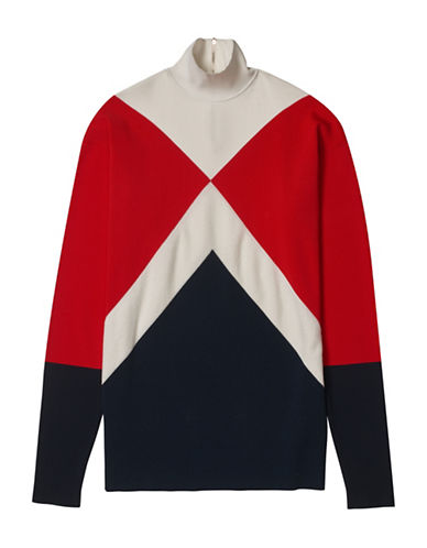 Tommy Hilfiger Tommy x Gigi Sweater Dress-MULTI-Large