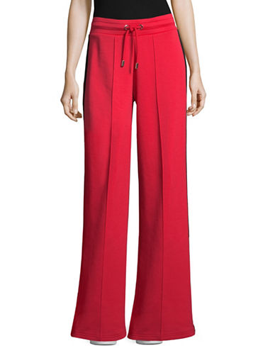 Tommy Hilfiger Tommy x Gigi Track Pants-RED-Small