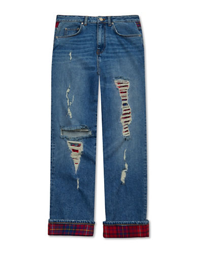 Tommy Hilfiger Tommy x Gigi Distressed Denim Jeans-LEXI-30
