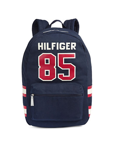 Tommy Hilfiger Varsity 85 Backpack-NAVY-One Size