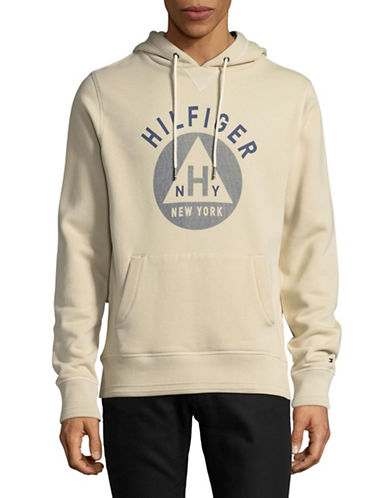 Tommy Hilfiger Penley Hoodie-BROWN-Small
