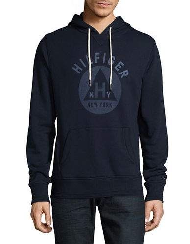 Tommy Hilfiger Penley Hoodie-BLUE-XX-Large