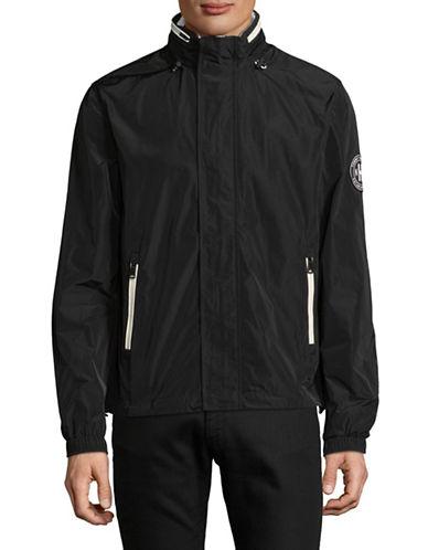 Tommy Hilfiger Bailey Windbreaker Jacket-BLACK-Large