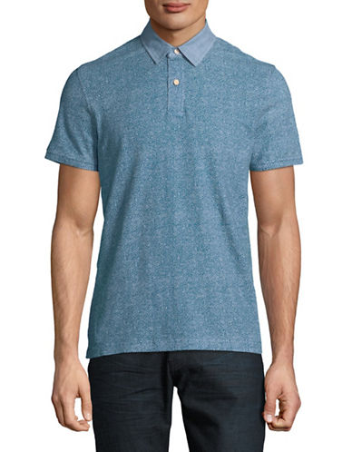 Tommy Hilfiger Rey Cotton Polo-BLUE-X-Large