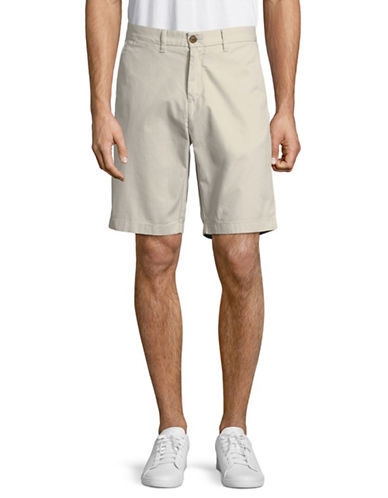 Tommy Hilfiger Classic Cotton Shorts-GREY-36