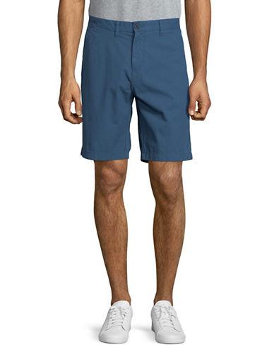 Tommy Hilfiger Classic Cotton Shorts-BLUE-36