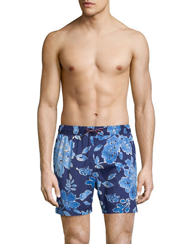 Tommy Hilfiger Lakebay Swim Trunks-BLUE-Medium