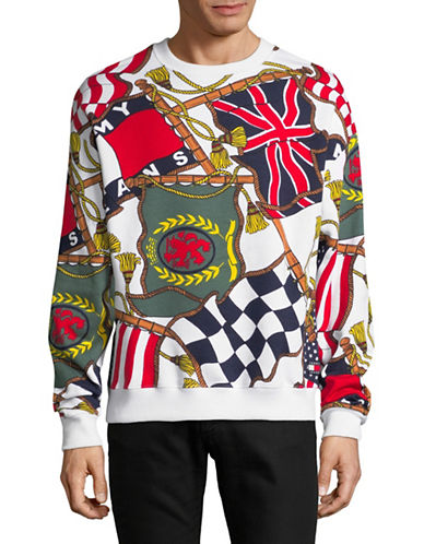 Tommy Jeans Printed Pullover-MULTI-COLOURED-Large