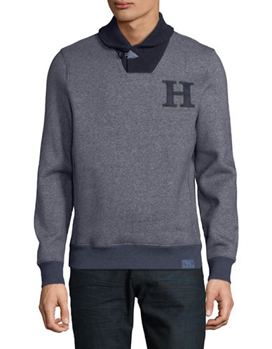 Tommy Hilfiger Forest Grove Pullover-BLUE-XX-Large