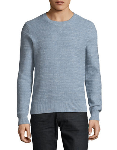 Tommy Hilfiger Toledo Cotton Sweater-BLUE-Small