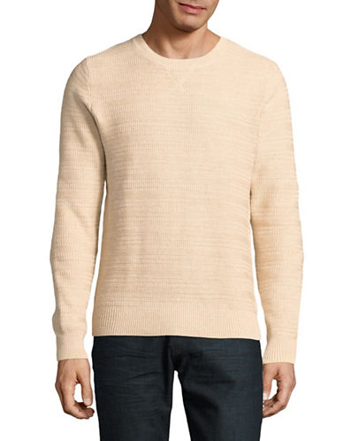 Tommy Hilfiger Toledo Cotton Sweater-RED-Small