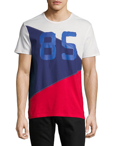 Tommy Hilfiger 85 Tri Flag Tee-CHINES REM-Medium