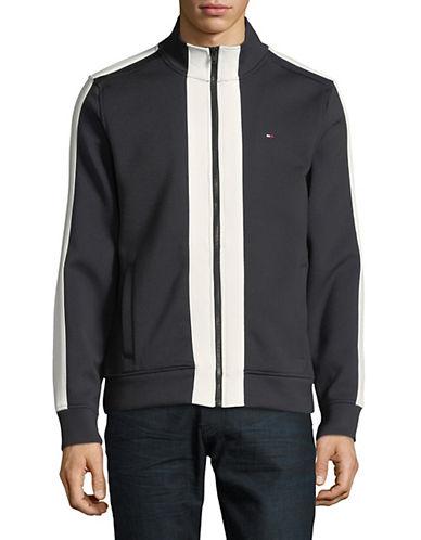 Tommy Hilfiger Platt Mock Neck Jacket-JET BLACK-Medium 89993114_JET BLACK_Medium