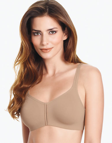 Wacoal Casual Beauty Wire Free Soft Cup Bra-TOAST-38C