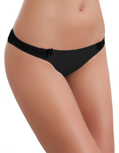 B. TemptD By Wacoal Most Desired Thong-NIGHT-Large