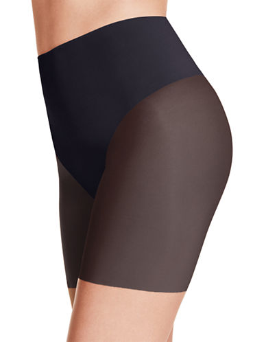 Wacoal Smooth Complexion Firm Long Leg Shaper-BLACK-Small