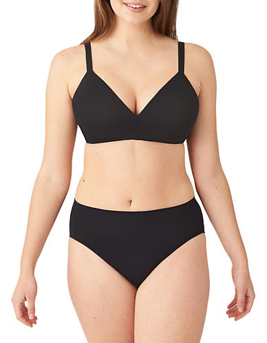 Wacoal Wacoal  How Perfect Non Wire Bra-BLACK-30D