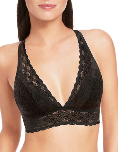 Wacoal 811205 Halo Soft Cup Bra-BLACK-34