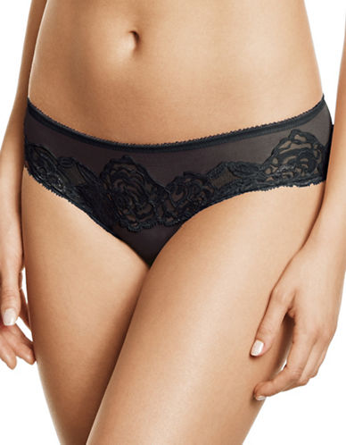 Wacoal Sheer Enough Hipsters-BLACK-Small