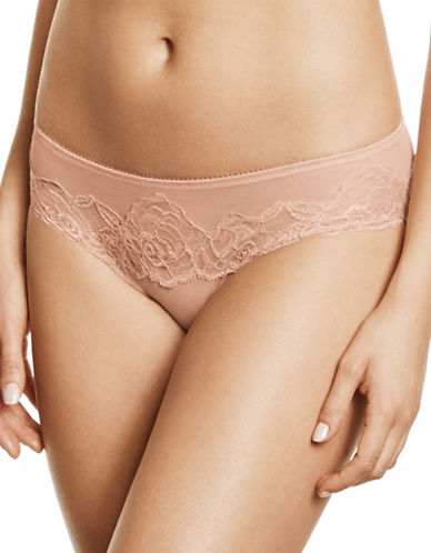 Wacoal Sheer Enough Hipsters-PINK-Medium