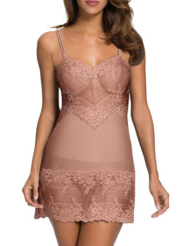 Wacoal Wacoal Embrace Lace Chemise-BLUSH-Medium