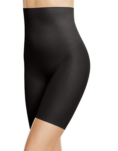 Wacoal Zoned 4 Shape High-Waisted Long-Leg Shaper-BLACK-Medium
