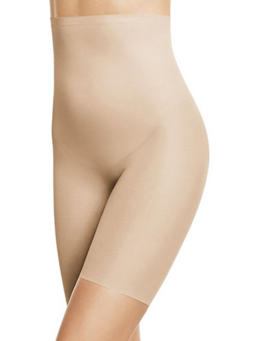 Wacoal Zoned 4 Shape High-Waisted Long-Leg Shaper-SAND-Medium