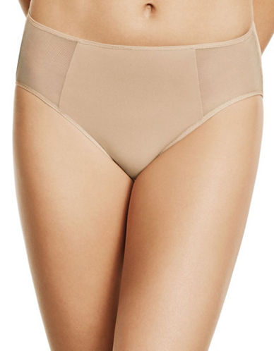 Wacoal Body By Hi-Cut Briefs-BEIGE-Large