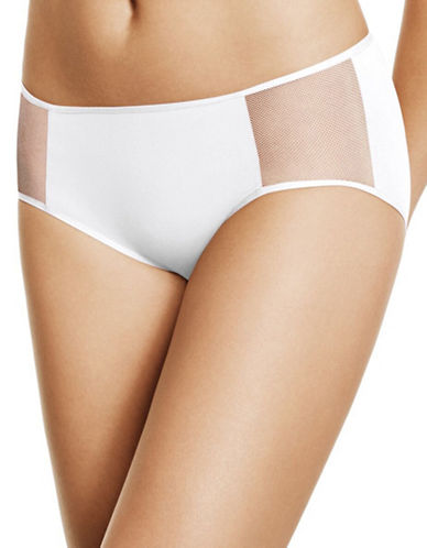 Wacoal Body By Hipsters-WHITE-Large