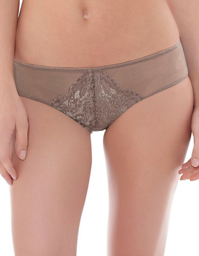 B. Tempt'D By Wacoal Ciao Bella Sheer Lace Panties-BROWN-Medium 88263636_BROWN_Medium