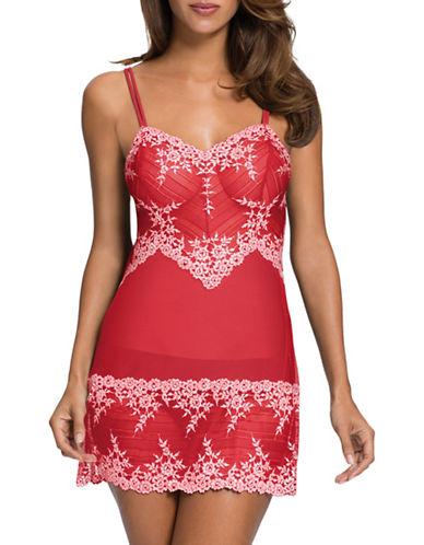 Wacoal Wacoal Embrace Lace Chemise-RED-Medium 88629343_RED_Medium