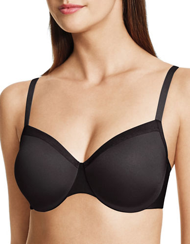 Wacoal Classic Reinvention Soft Cup Bra-BLACK-30A/B