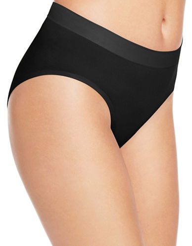 Wacoal Skinsense Hi-Cut Briefs-BLACK-Small