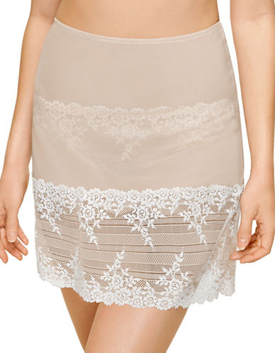 Wacoal Embrace Lace Slip-BEIGE-Medium