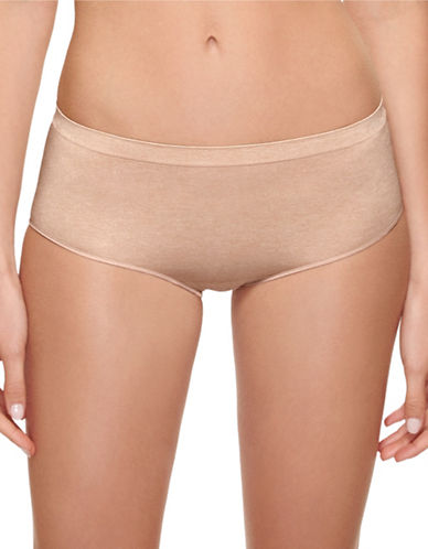 B. TemptD By Wacoal Splendid Hipster Panties-NUDE-Medium