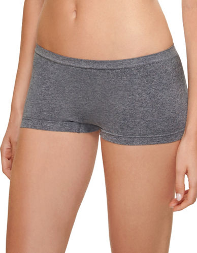 B. TemptD By Wacoal Splendid Boyshorts-GREY-X-Large