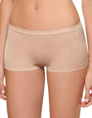 B. TemptD By Wacoal Splendid Boyshorts-NUDE-Large