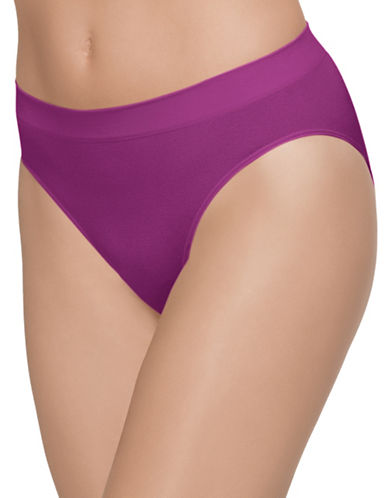 Wacoal B. Smooth Hi Cut Brief 834175-WILD ASTER-Small