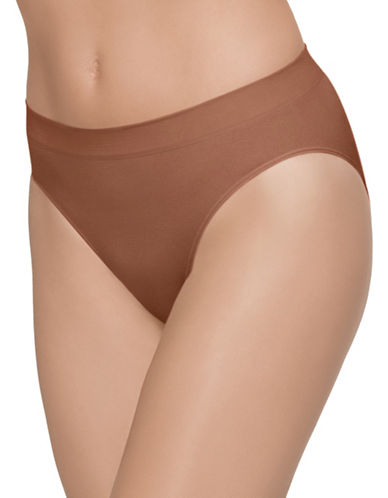 Wacoal B. Smooth Hi Cut Brief 834175-PECAN-Small