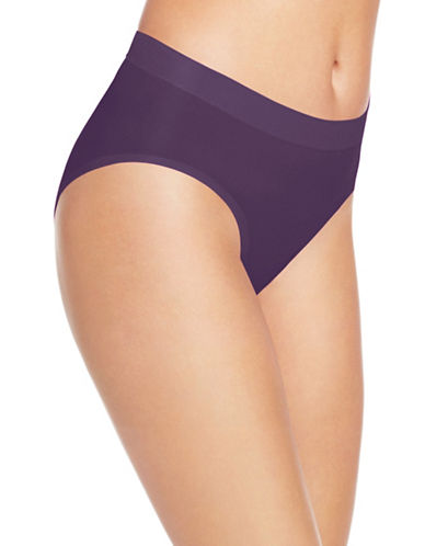 Wacoal Skinsense Hi-Cut Briefs-DARK PURPLE-Large