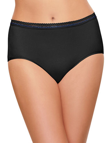 Wacoal Perfect Primer Hi-Cut Brief-BLACK-Small