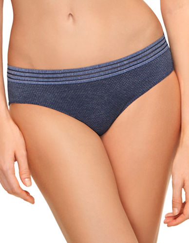 B. TemptD By Wacoal Spectator Bikini Bottoms-MEDIEVAL BLUE-Large