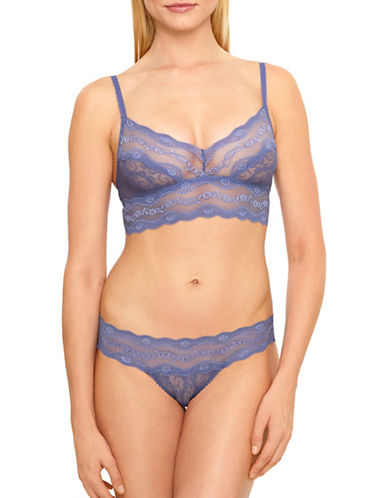 B. TemptD By Wacoal Lace Kiss Bralette 910182-MARLIN-Large
