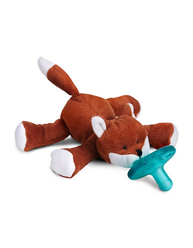 Wubbanub Classic Fox Pacifier-BROWN-One Size 89858051_BROWN_One Size