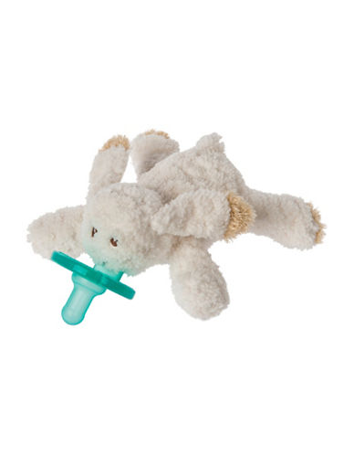 Mary Meyer Oatmeal Bunny Wubbanub Pacifier-BEIGE-One Size
