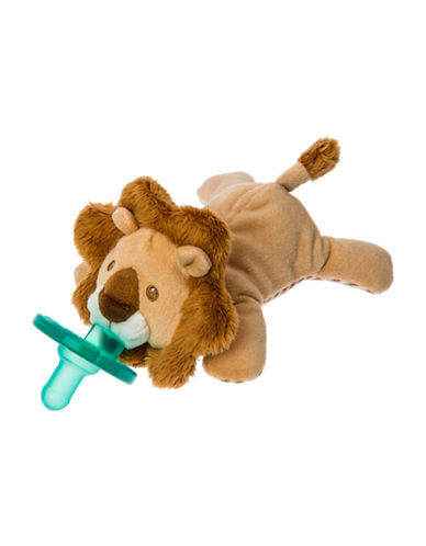 Mary Meyer 6-Inch Afrique Lion Pacifier-BROWN-One Size
