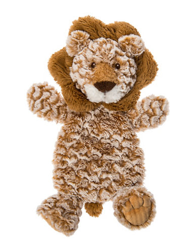Mary Meyer Afrique Lion Lovey Plush Toy-BROWN-One Size